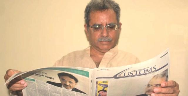 DOT producing trained customs force: Mehboob Saqib Khan