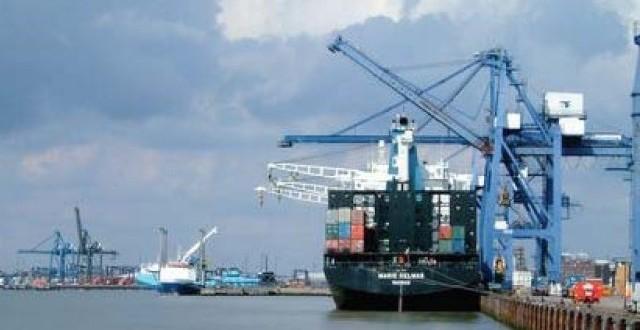 Port Qasim shipping activities