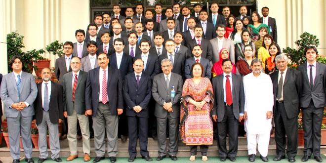 Pakistan Administrative Service (PAS) Probationary officers visit FBR House