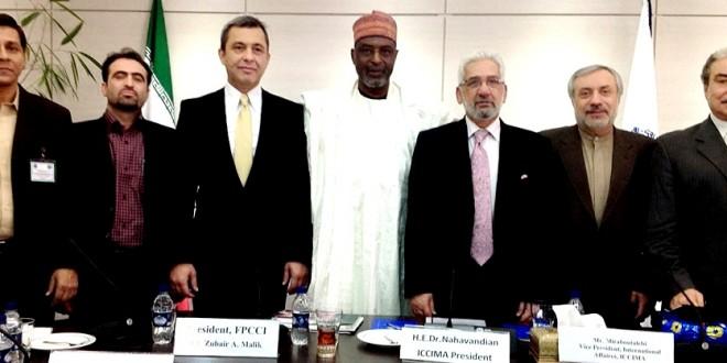 FPCCI President chairs D-8 FCCI meeting in Tehran