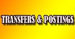 Collector Appraisement Mohsin Rafiq transfers inspectors, havaldars, sepoys
