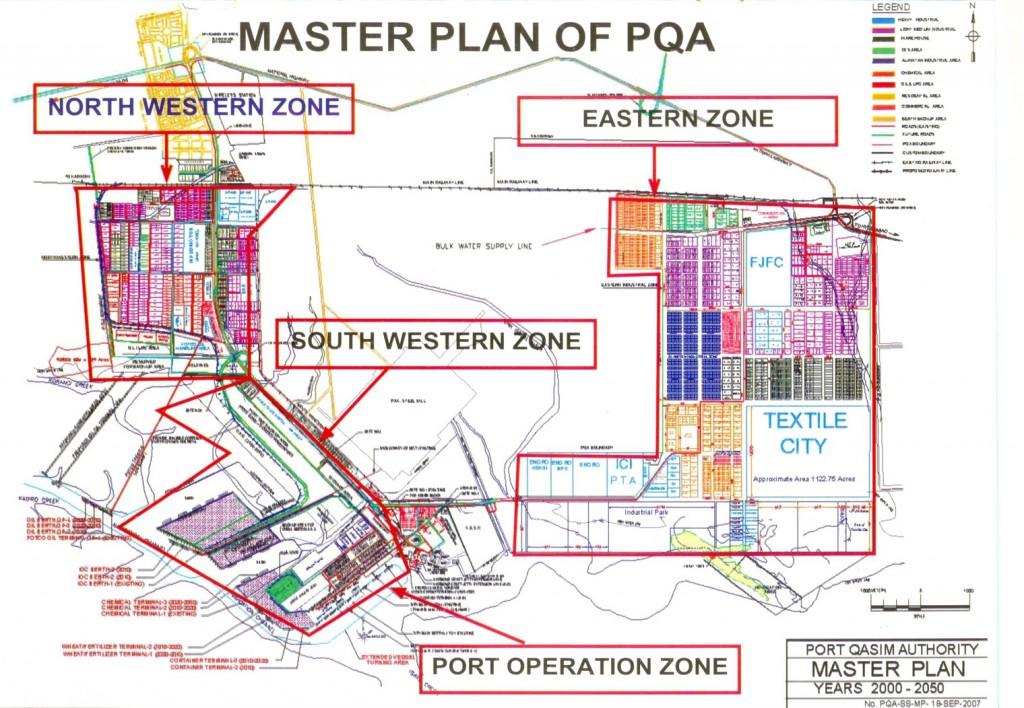Port Qasim Master Plan