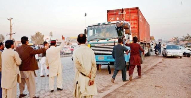 KP customs agents upset over blockade