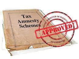 Tax amnesty scheme for new investors announced