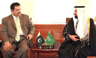 Saudis express desire to enhance commerce with Pakistan