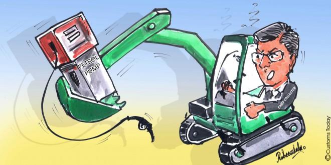 76 illegal petrol pumps, depots demolished in 2 days of crackdown