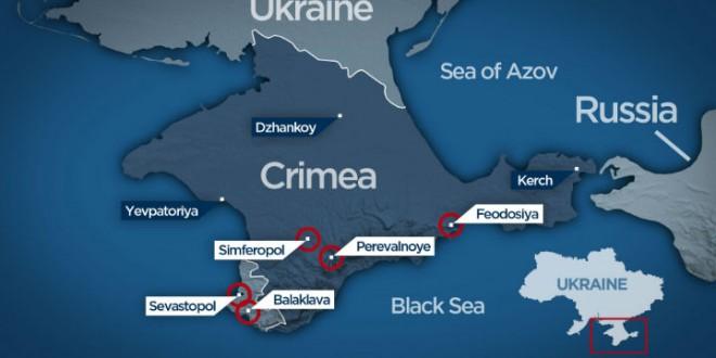 War tide: Ukraine to shut Crimean ports