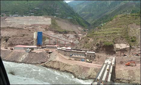 Graveyard of proposed dams