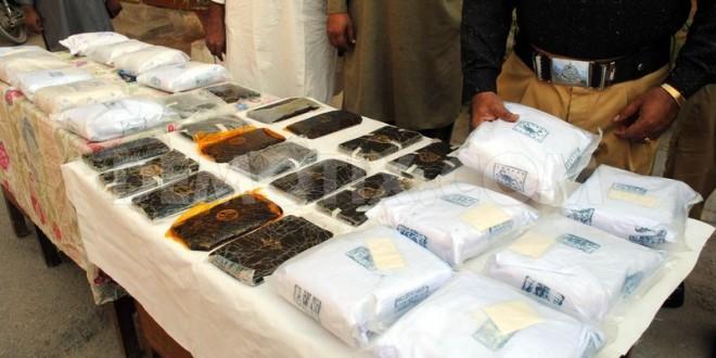 ANF seizes 3,556-kg drugs, arrests five smugglers