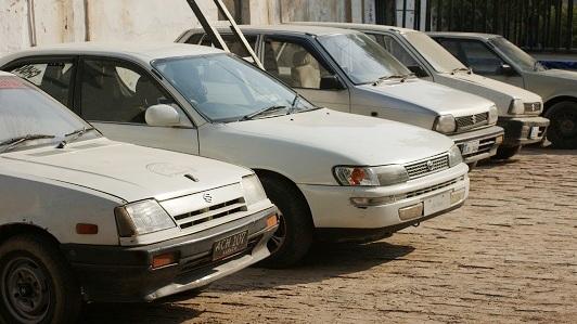 42 smuggled cars seized in DI Khan