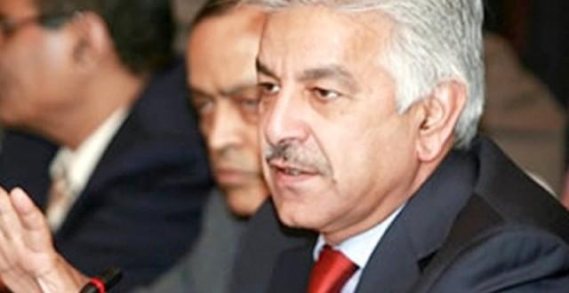 Imran, Qadri sit-ins inflict 'billions of dollars' loss on fragile economy: Khawaja Asif