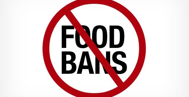 Ban on food items causes Taiwan $203.2m loss