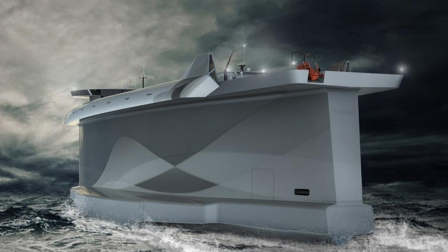 Norwegian ship designer unveils futuristic design for cargo vessels to revolutionize shipping industry