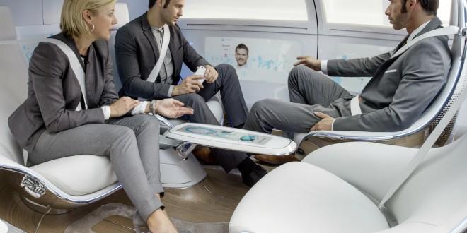 Mercedes-Benz unveils connected, self-driving concept car