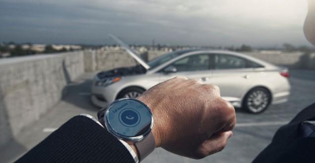 Hyundai's smartwatch app to help find, start & unlock car