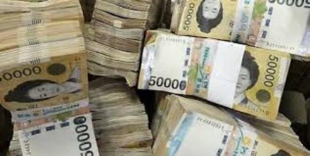 South Korean won firmer against dollar after Yellen