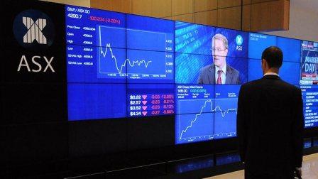 Australian stocks slightly lower at noon, S&P 200 dips 3.50pts