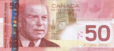 Canadian Dollar Exchange Rate Declines