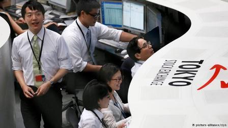 Tokyo stocks jump 0.74pc at close of trade, Nikkei 225 increases 136.56pts