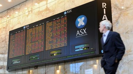 Australian stocks edge lower at start, S&P 200 down 1.3pts