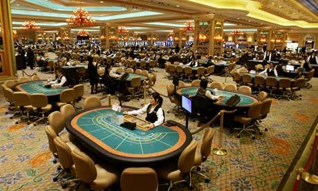 Macau gambling revenue dips 49% to $2.4b in February