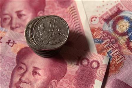 China's yaun strengthens to 6.1588 against US dollar
