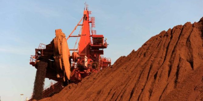 Australia iron ore exports fall in Jan