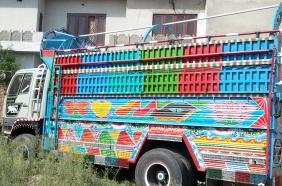 Sargodha ASO impounds non duty paid Hino dumper truck