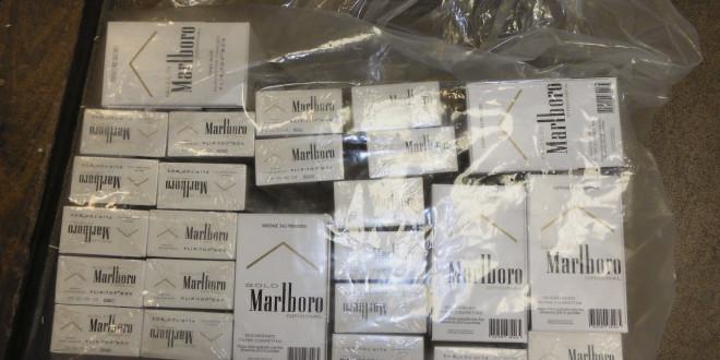 Huge quantity of non-duty paid cigarettes seized in Sheikhupura