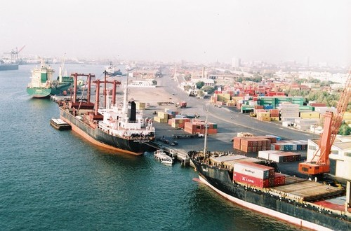 Four ships take berth at Port Qasim