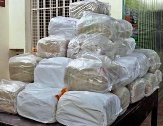 India excise seizes 720kg ganja worth Rs. 7.5 million