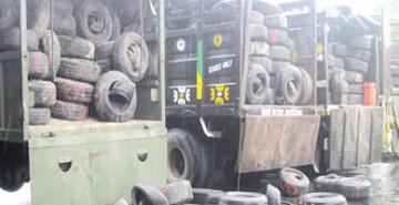 Sargodha FIU seizes non duty paid tyres