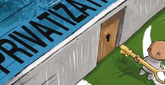 Privatisation of national assets