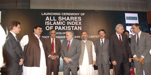 Ishaq Dar launches 'Islamic Index' at KSE