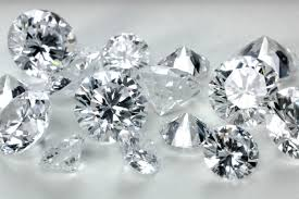 U.S. polished diamond imports slide