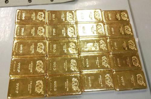 Taiwan police seize 4 gold bars worth NT$5 million