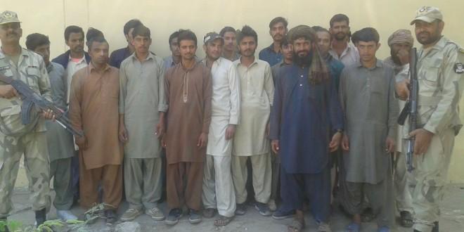 Pakistan Coast Guards nabs 60 illegal immigrants