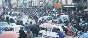 Earthquakes, blockade take toll on automobile sales