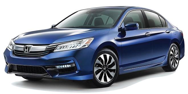 2017 Honda Accord Hybrid gets more power, efficiency