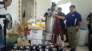 P1.1B worth of liquid shabu seized in Pampanga raid