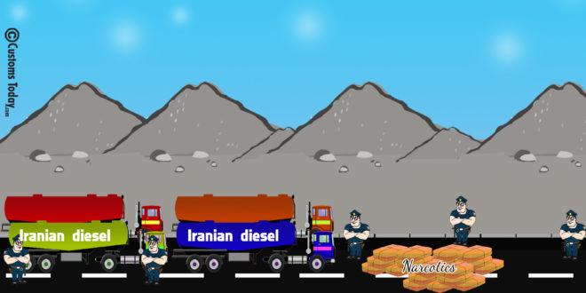 Quetta Customs foils bids to smuggle huge quantity of Iranian diesel, narcotics