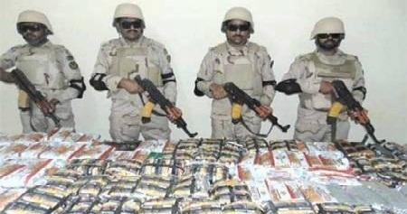 ANF seizes 812kg heroin, arrests 25 suspected smugglers
