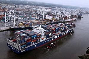 Georgia Ports Authority announces record cargo in FY2017