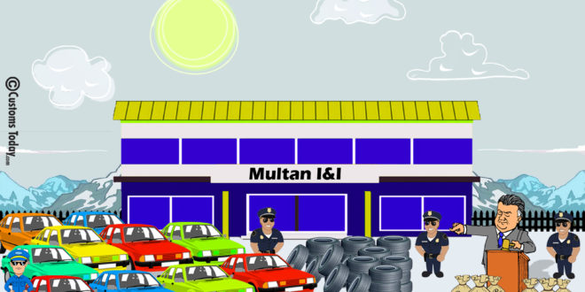Multan I&I seizes smuggled goods & vehicles worth Rs770m