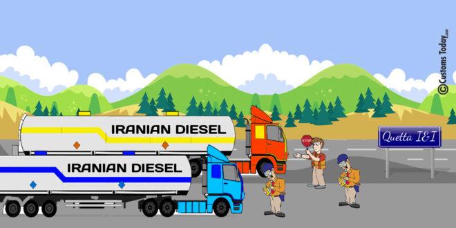 Quetta I&I foils bid to smuggle Iranian diesel worth Rs5.84m