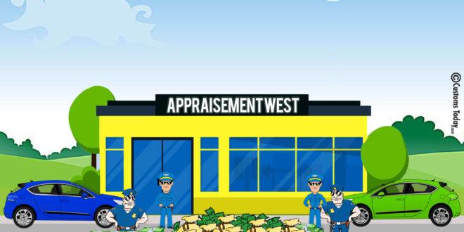 Appraisement West generates Rs21535.78m during August