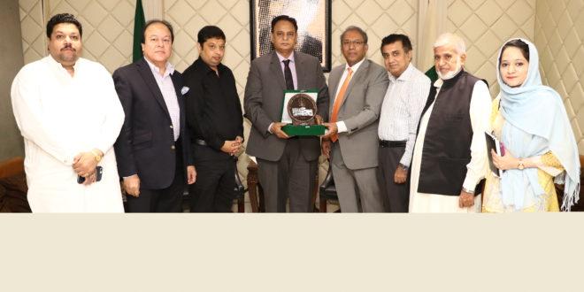 Economy and law & order inter linked: LCCI President Malik Tahir Javaid
