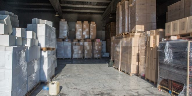 Police Raid Illegal Cigarette Manufacturing Facilities Near Athens