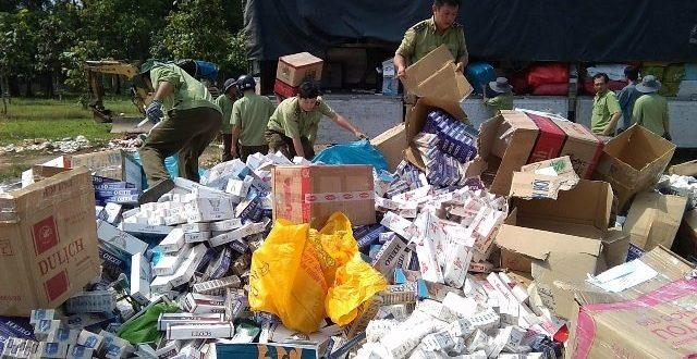 Cigarette smuggling persists