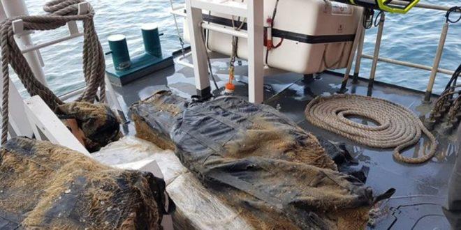 Nearly 240 kilos of Marijuana found under ship in Rotterdam